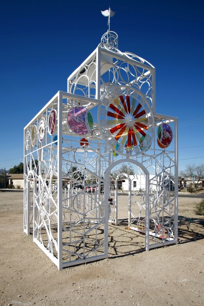 Tucson Oddity: Bike Church is a walk-in sculpture