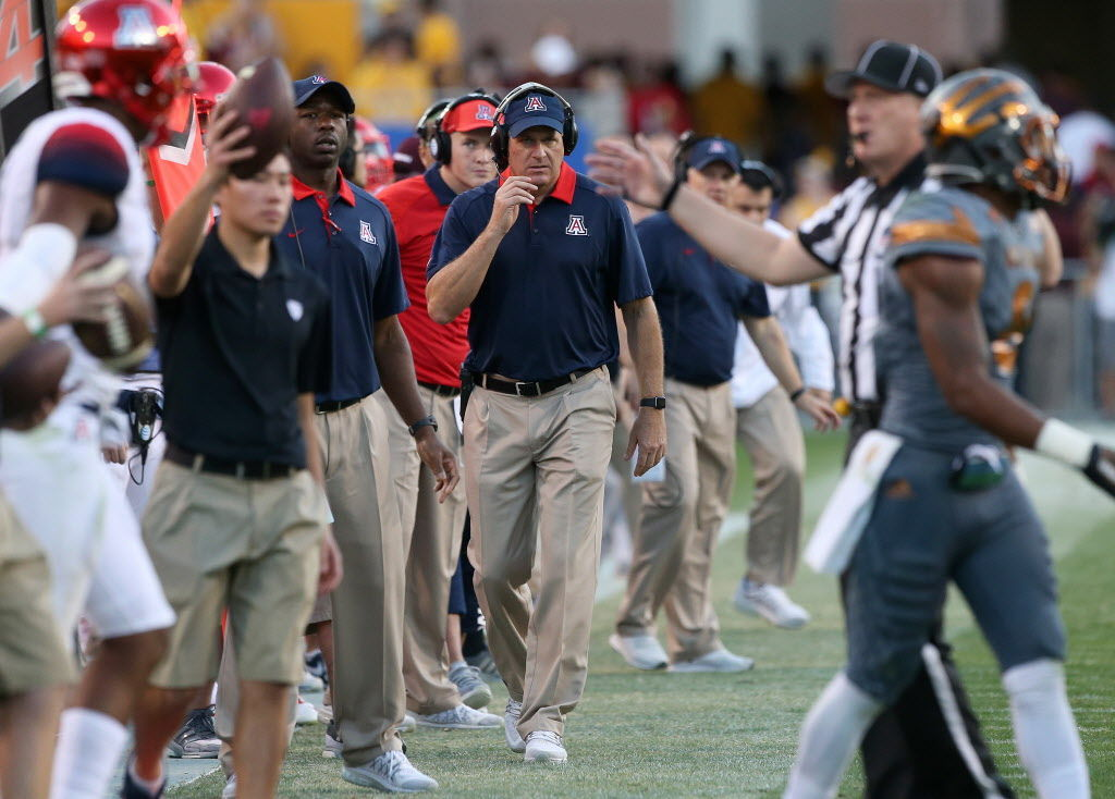 Arizona Coach Rich Rodriguez Talks Staff Changes Arizona Wildcats