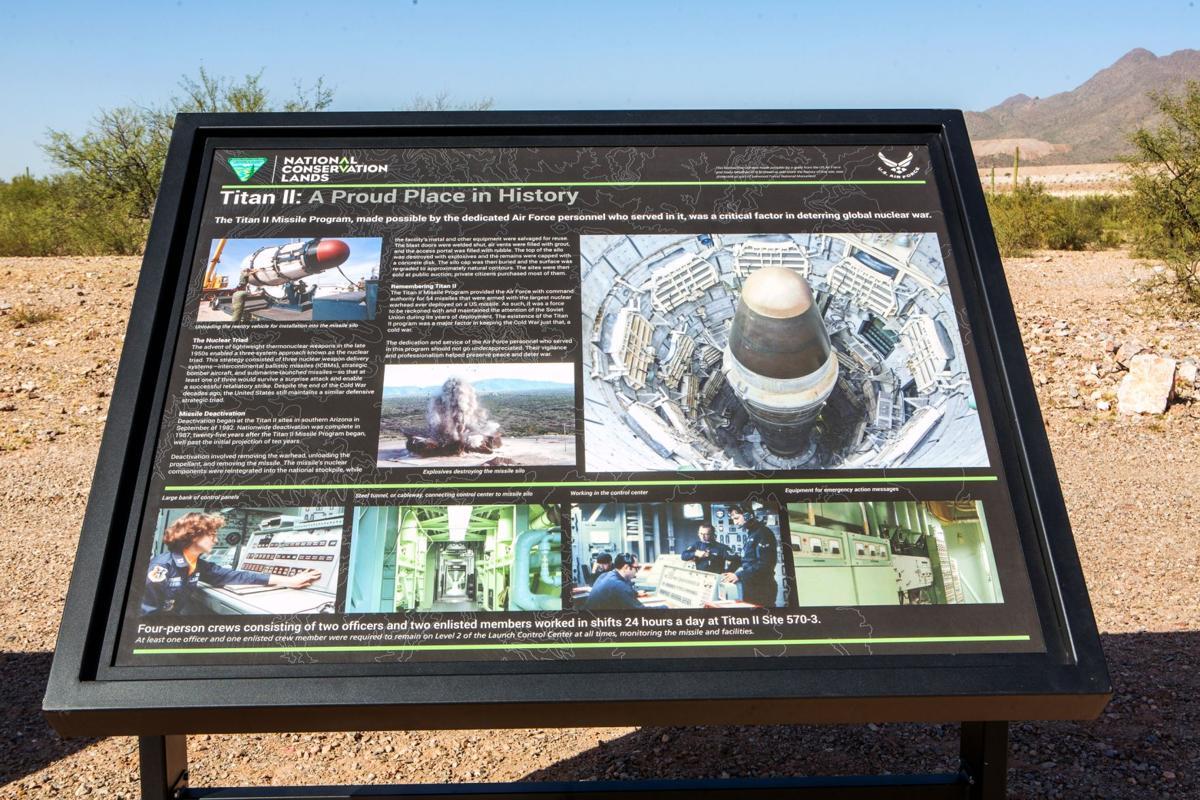 Nuclear Missile Silo For Sale Photos Titan Missiles Around Tucson Local News Tucsoncom