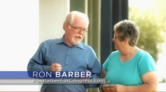 Barber up on TV, McSally becomes 'Young Gun'