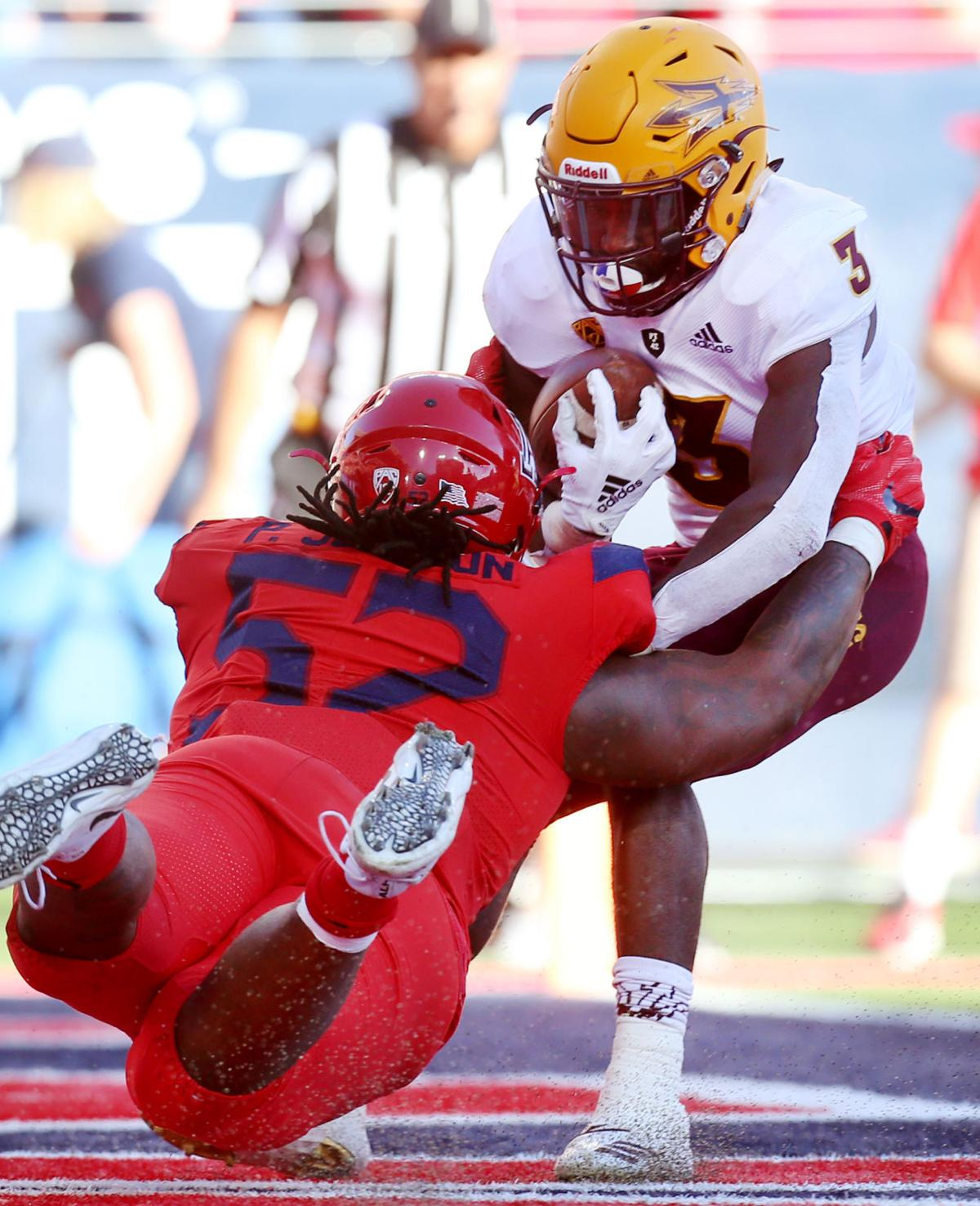 Arizona Wildcats vs. Arizona State Sun Devils in the 2018 Territorial Cup (copy)