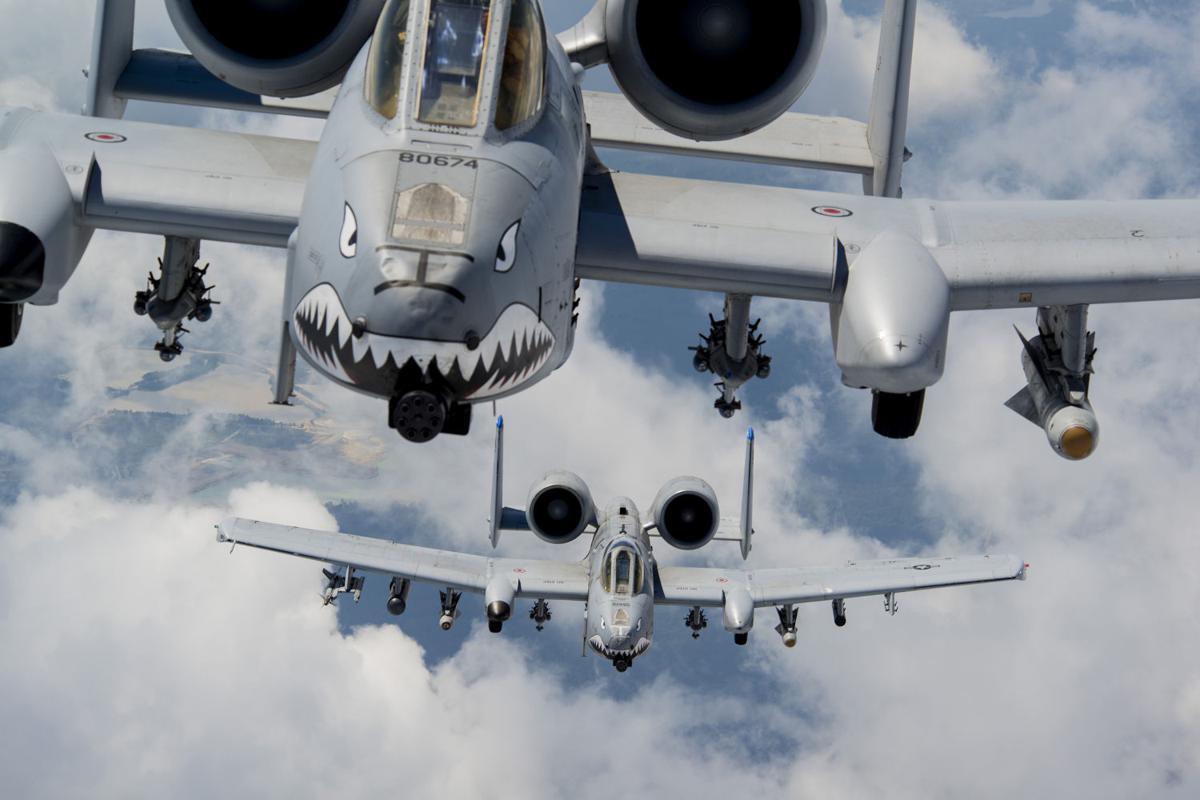 A-10C Thunderbolt IIs