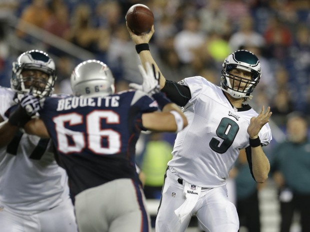 Nfl notebook: Foles throws 2 TDs in Eagles' 27-17 win