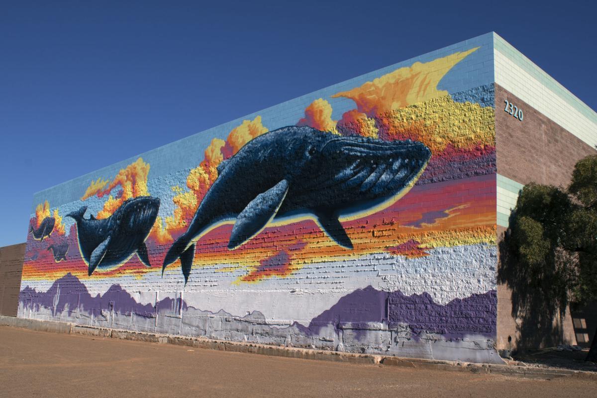 Banner - University Medicine commissioned Tucson murals: Joe Pagac