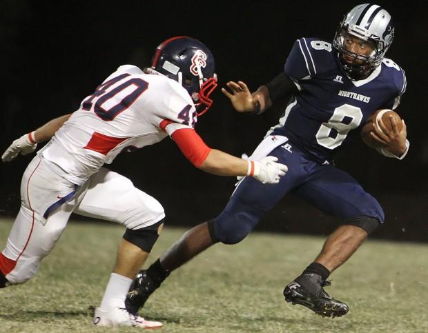 High school football: Forget the pass, Nighthawks do damage on ground