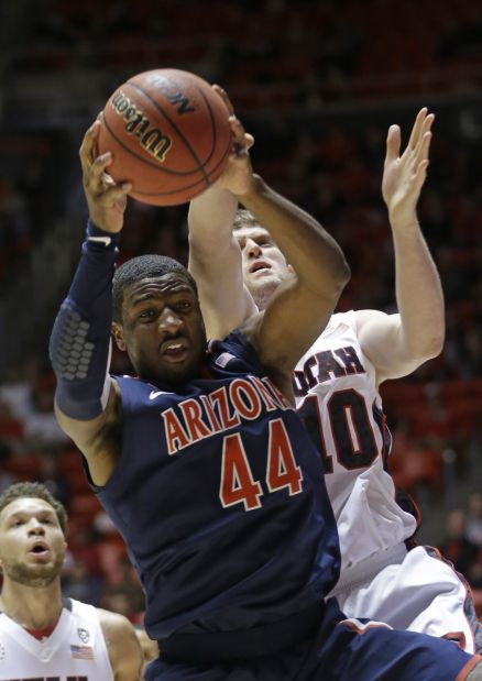 Arizona-Utah college basketball