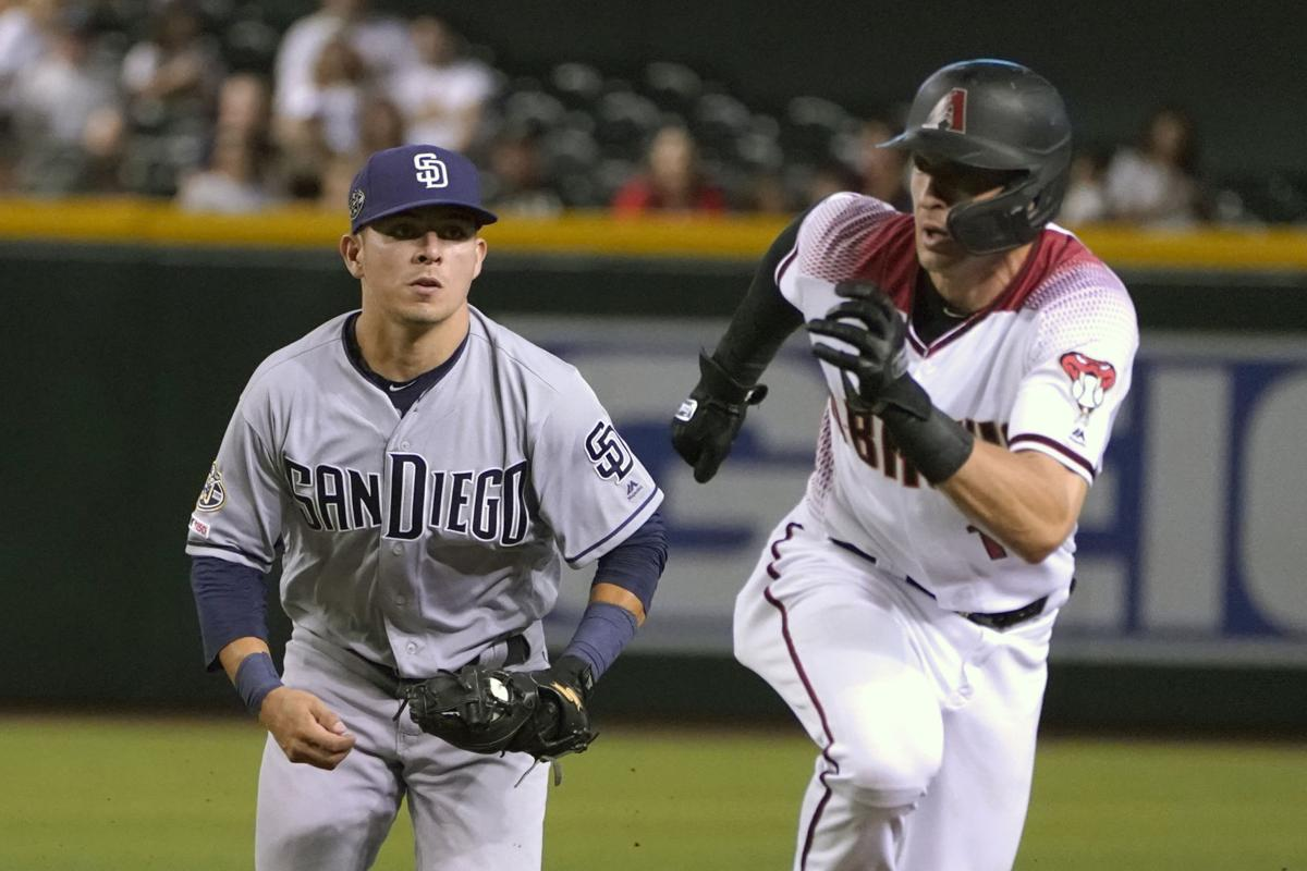 Padres Diamondbacks Baseball