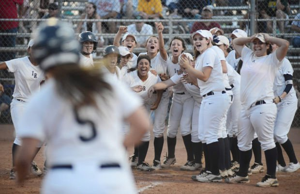 State Softball: Rocker rocks 'em with late HR as I-Ridge reaches title game