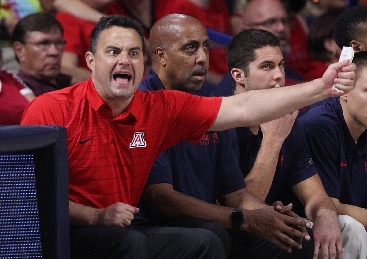 Arizona Wildcats Red-Blue scrimmage