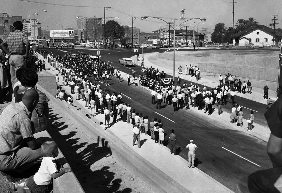 Broadway Road underpass in 1963