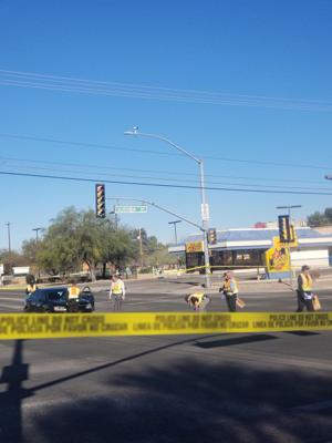 Teen girl seriously injured after being hit by car in midtown Tucson