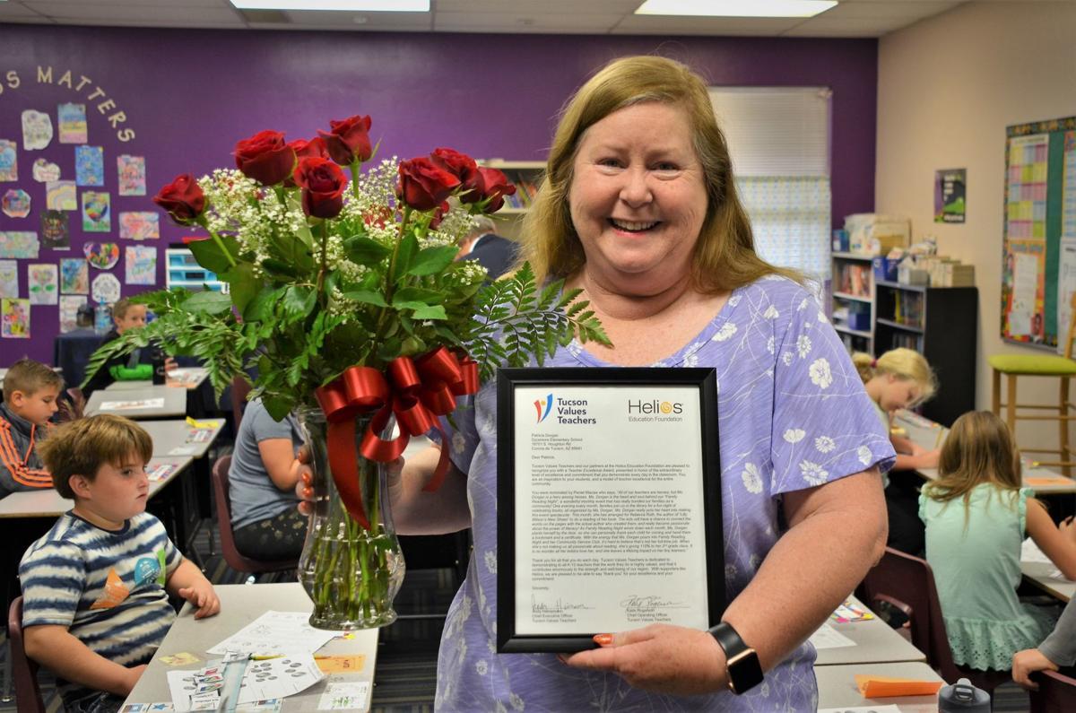 Tucson Values Teachers' Excellence Award