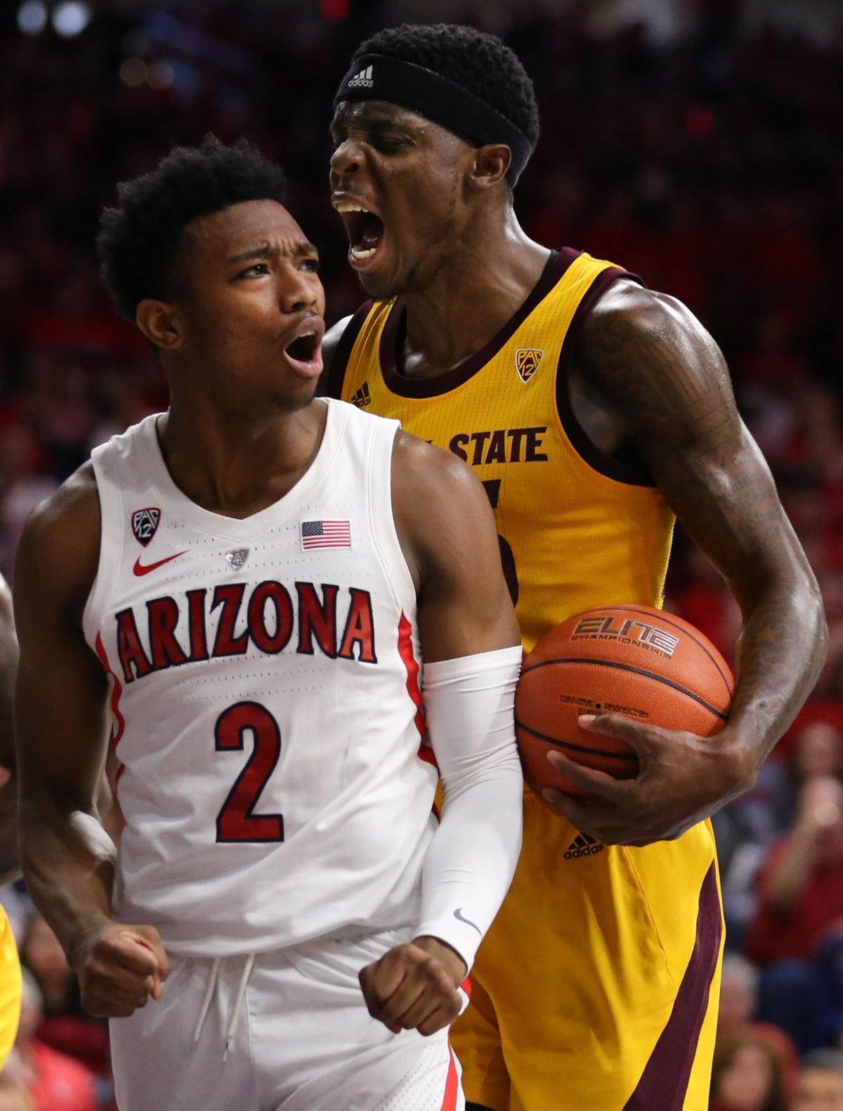 2f5f033d9482d Photos  Arizona basketball falls to Arizona State at McKale ...