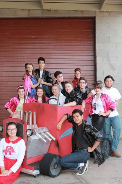 "Empire High School ""Grease"" cast"