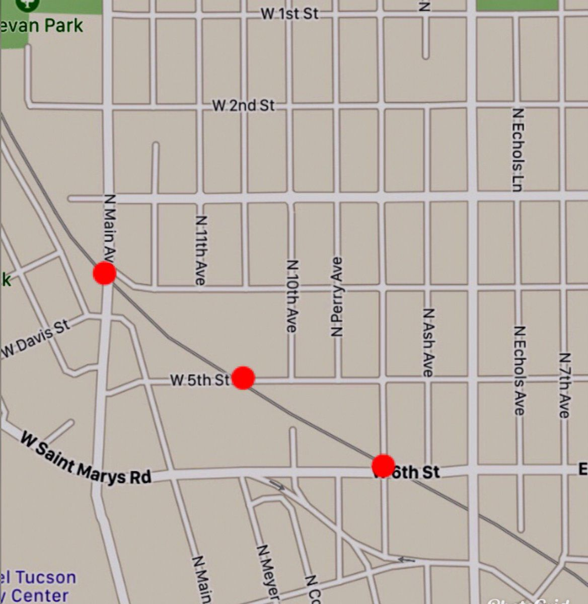 Roads reopen after train hits, kills Tucson pedestrian | Tucson.com