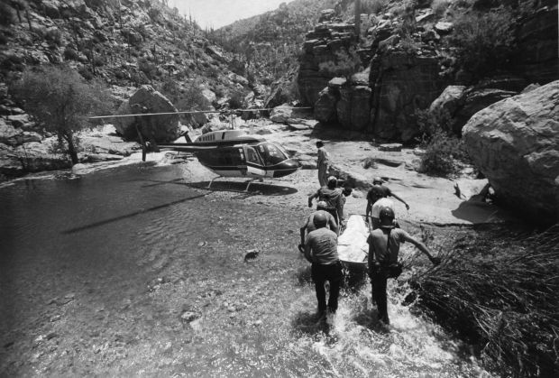 Tanque Verde Falls deaths