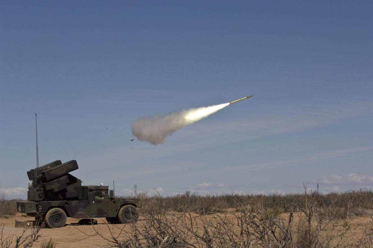 Raytheon adapts small missile to shoot down drones
