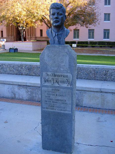 Kennedy bust