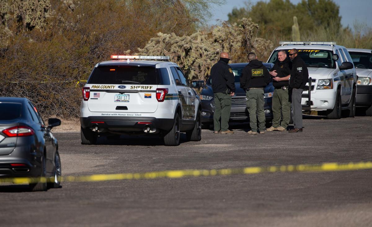 Pima County Sheriff, shooting scene (copy)