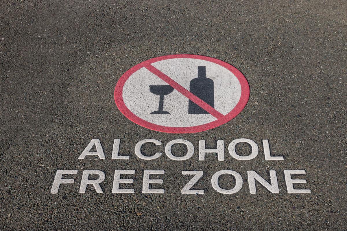 Alcohol-free zone