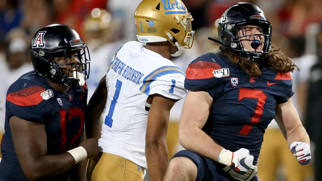Arizona LB Colin Schooler's numbers are down, but he believes the Wildcats are on the rise