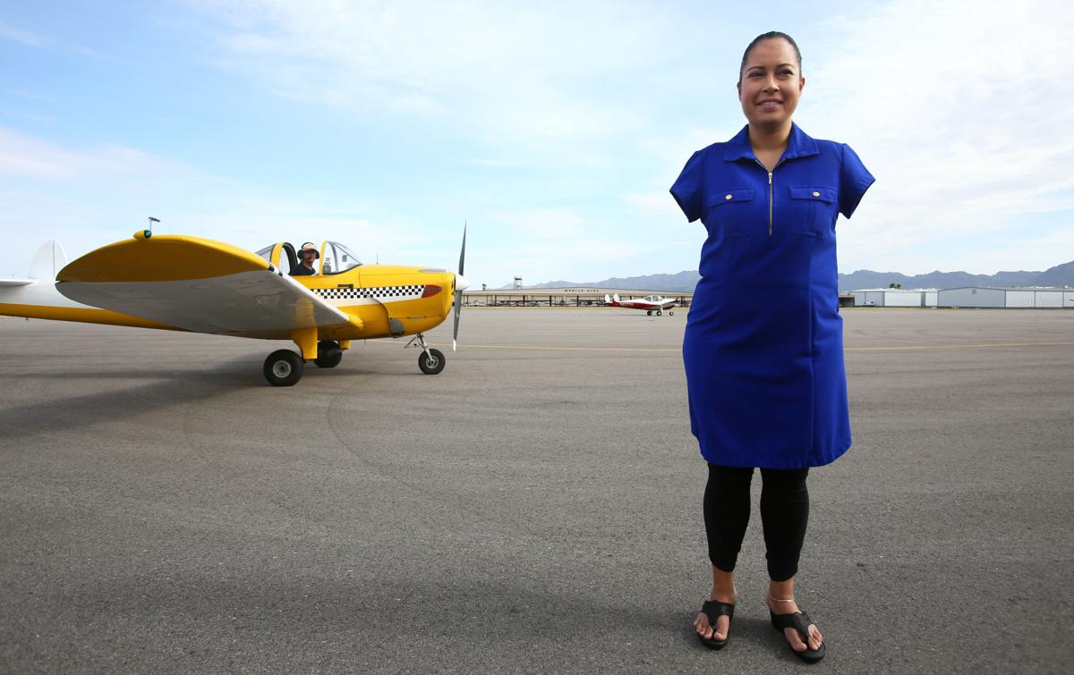 New airplane for Jessica Cox