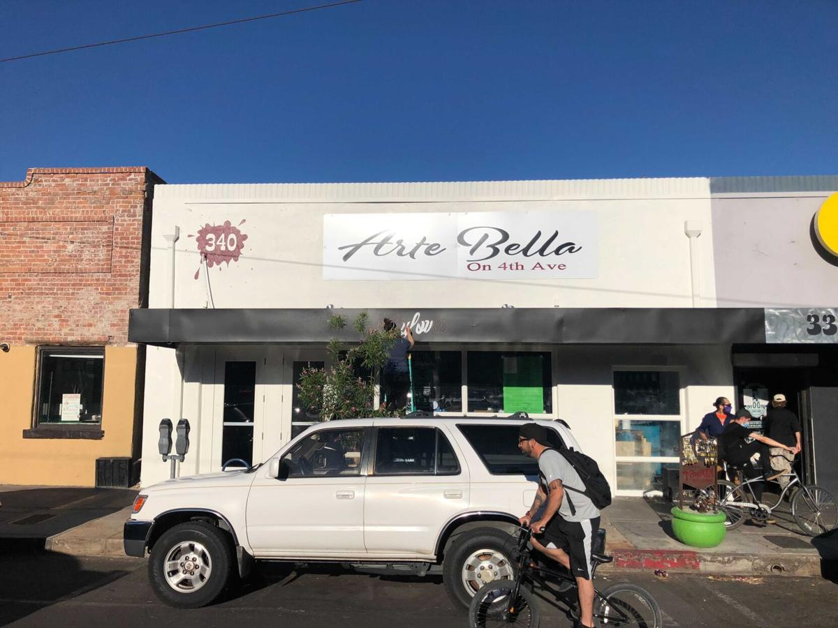 Fullylove's and Arte Bella on Fourth Avenue