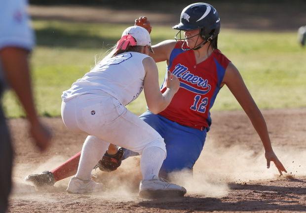 San Manuel vs. Desert Christian softball