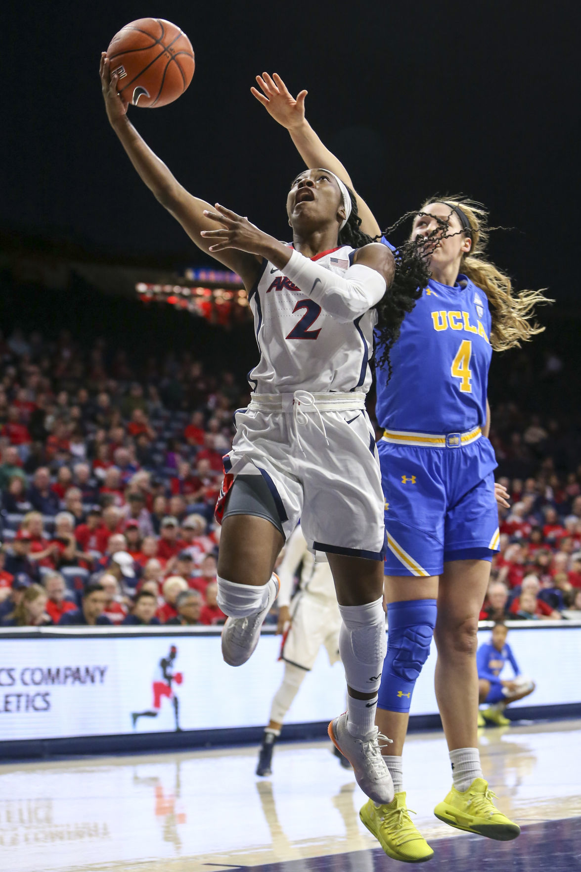 COLLEGE BASKETBALL: JAN 27 Women's UCLA at Arizona