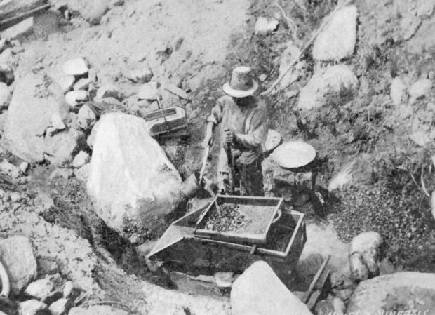 Mining at Greaterville
