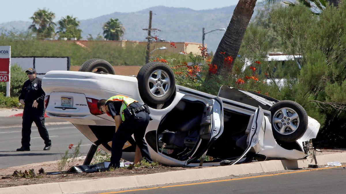 Tucson car crash