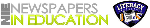 Newspapers in Education and Literacy Leadership logo