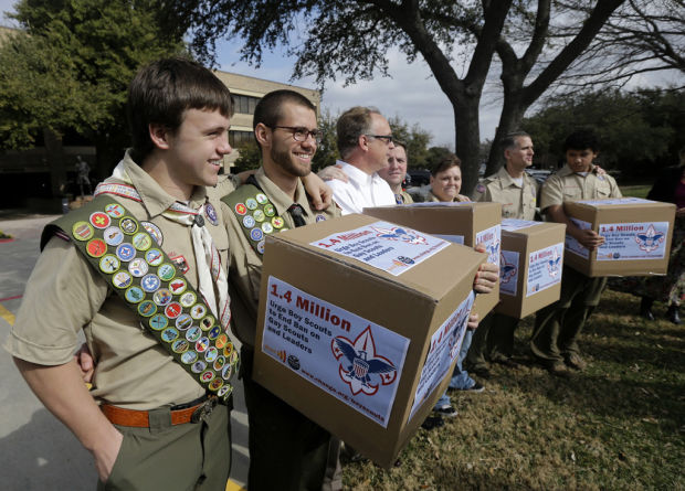 Boy Scouts may allow gay youths, not leaders