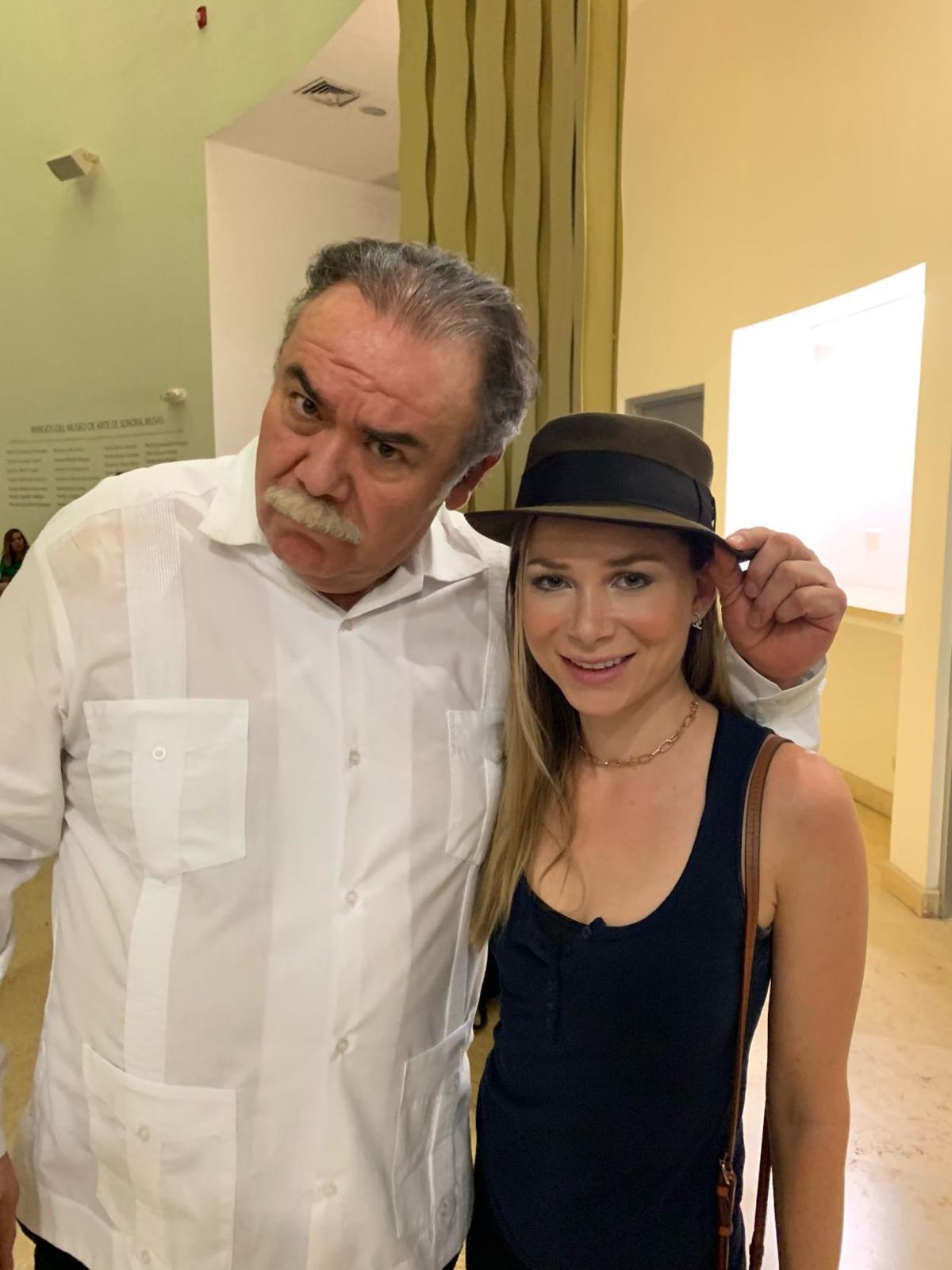 Mika Boorem y Jesús Ochoa