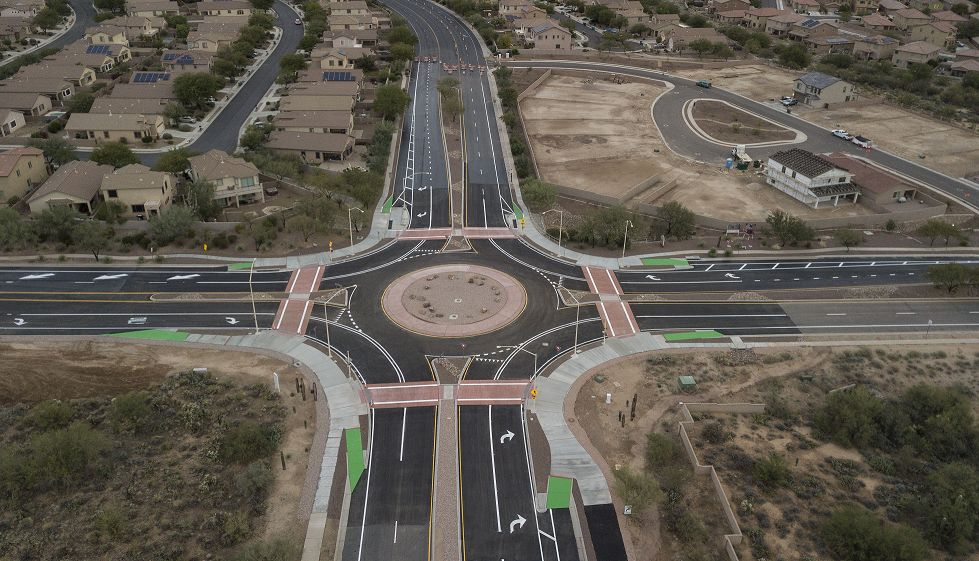 Oro Valley roundabout