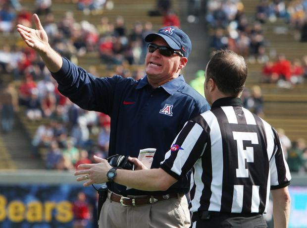 Arizona vs. Cal college football