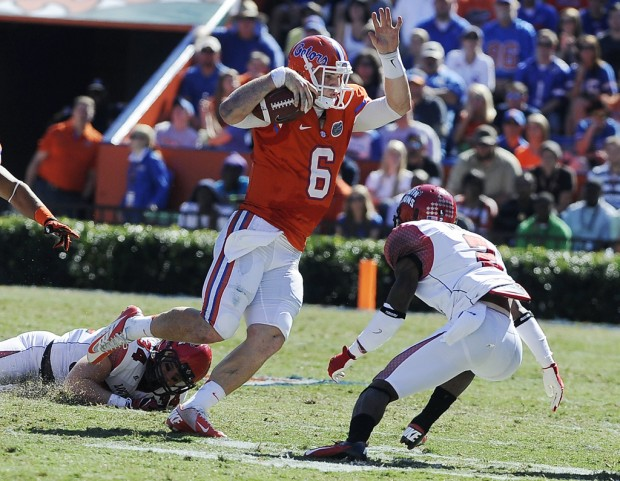 College Football notebook: Florida QB out for Saturday, could miss FSU game Nov. 24
