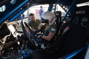 Vroom service: Veterans rev up on racetrack to speed PTSD recovery