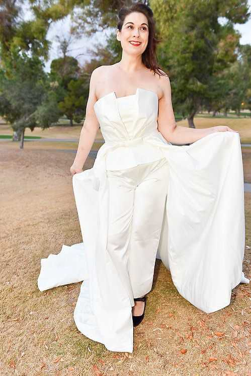 This new-to-Tucson designer is creating beautiful wedding gowns for ...