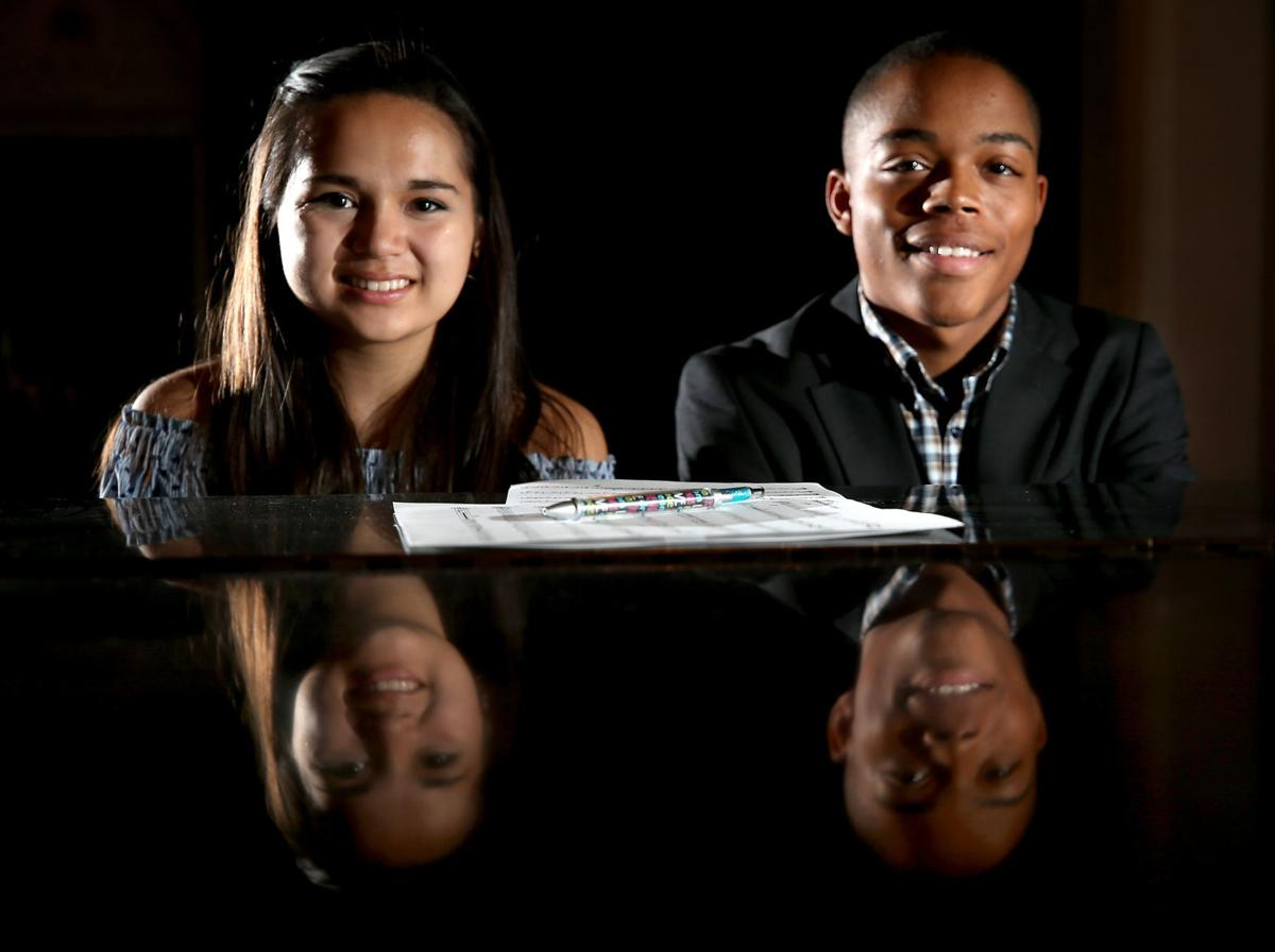 Claire Thai and Levi Powe