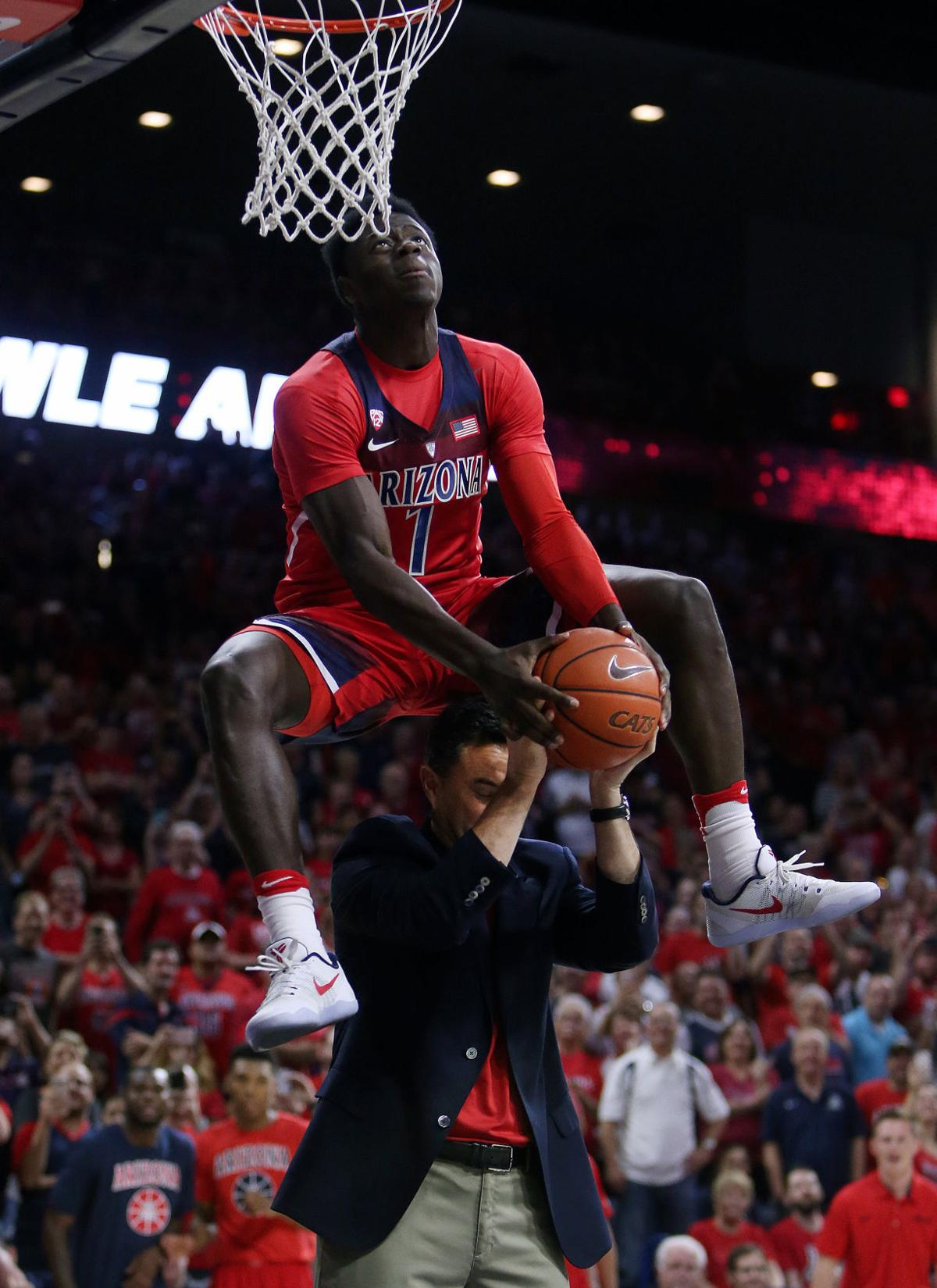 Arizona Wildcats basketball Red/Blue scrimmage