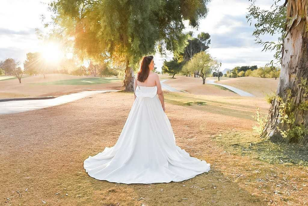 a2c5350045 This new-to-Tucson designer is creating beautiful wedding gowns for ...
