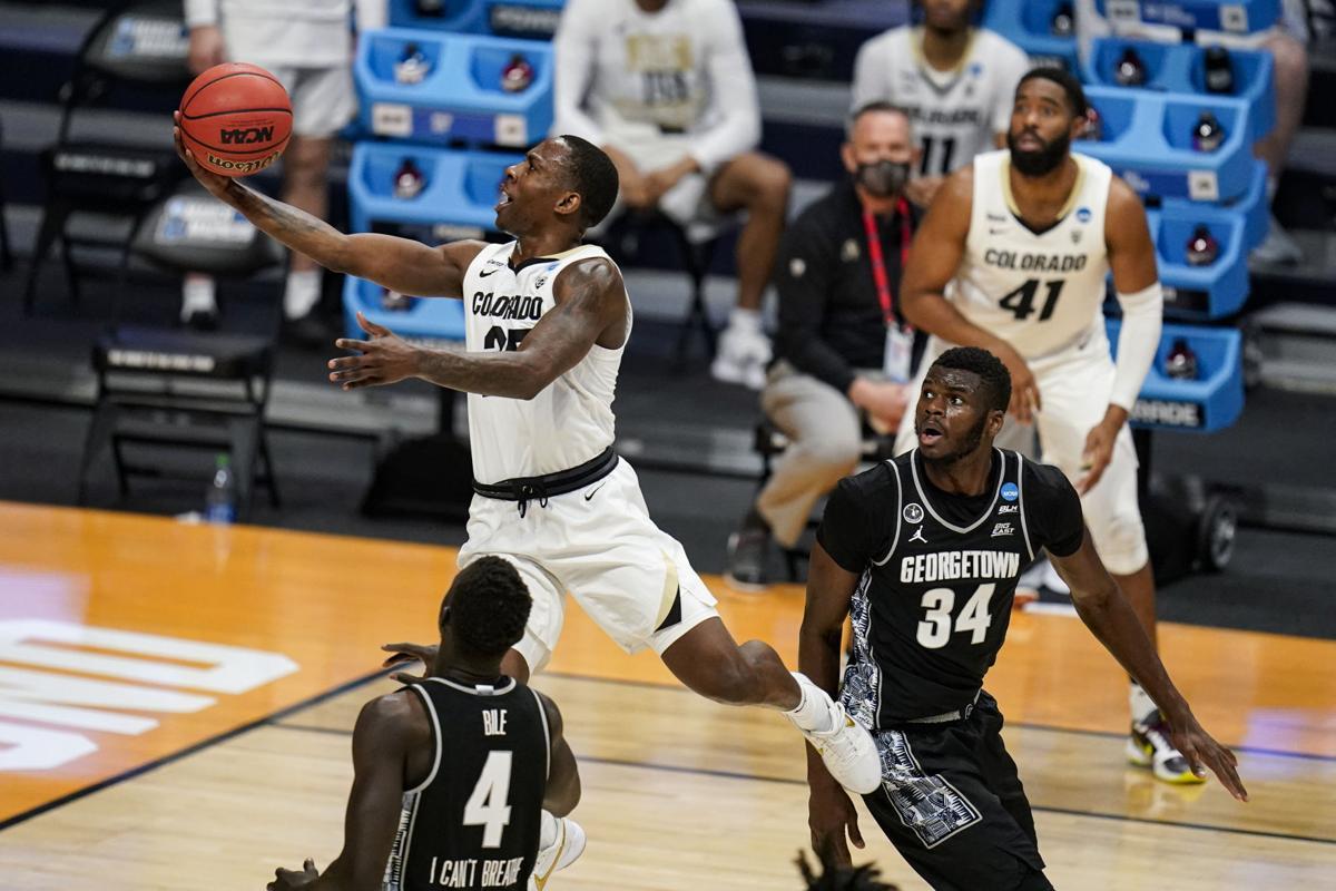 NCAA Georgetown Colorado Basketball