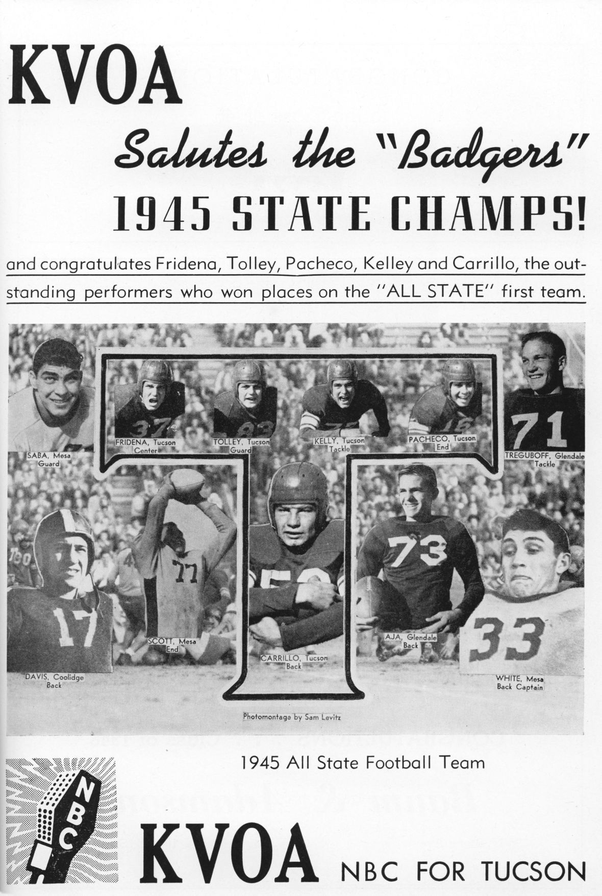 20 THS 1945 State Champs