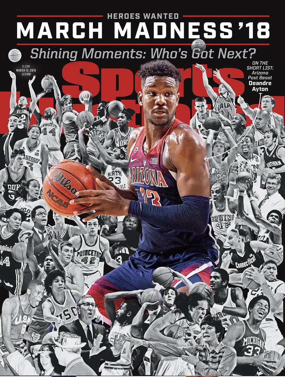 e5dc101d5b29 Here are 22 times Arizona Wildcats were featured on Sports Illustrated s  cover