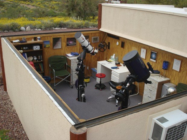 Home Observatories Offer Prime Stargazing Home And
