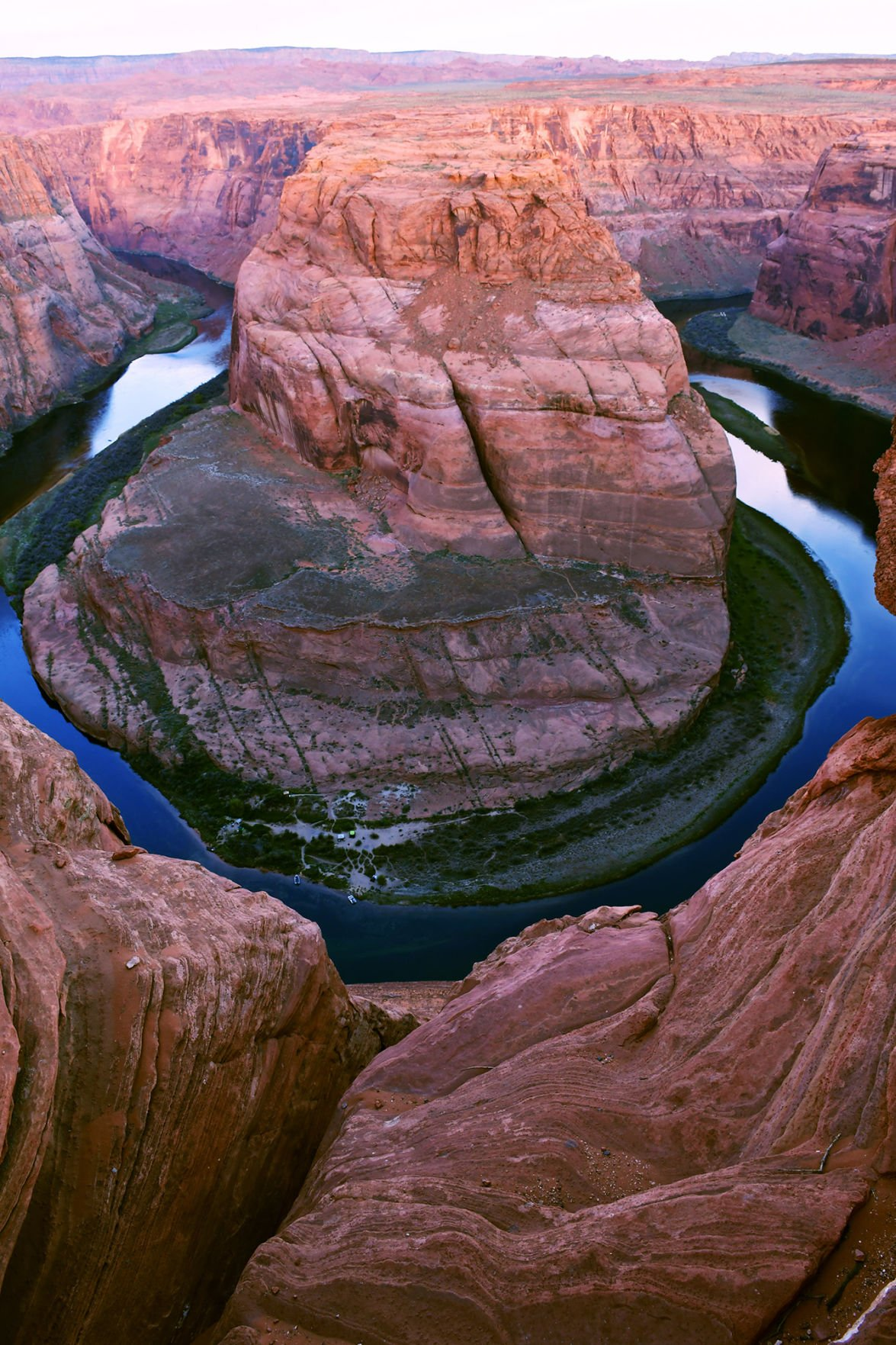 The Colorado River's Horseshoe Bend is part of Glen Canyon National Recreation Area, outside Page, Ariz.