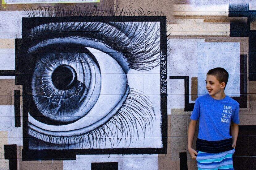 Grey Rose Art - The Living Mural