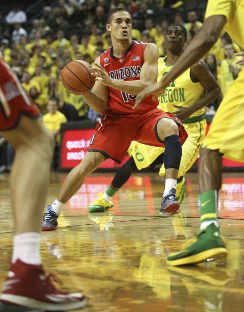 University of Arizona vs. Oregon men's college basketball