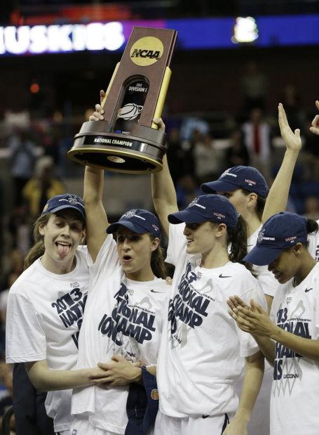 Women's Ncaa Championship: Connecticut 93, Louisville 60: Eighth title for Huskies